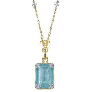 https://www.cristianis.com/upload/page/page_product/1603785900aquamarine and diamond pendant with fleur de lise chain p14567da_n14696d.jpg